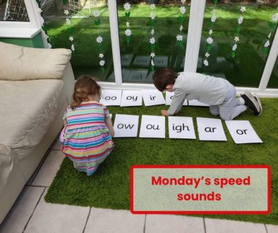 Speed sounds at home