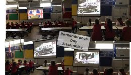 Rememberance day assesmbly